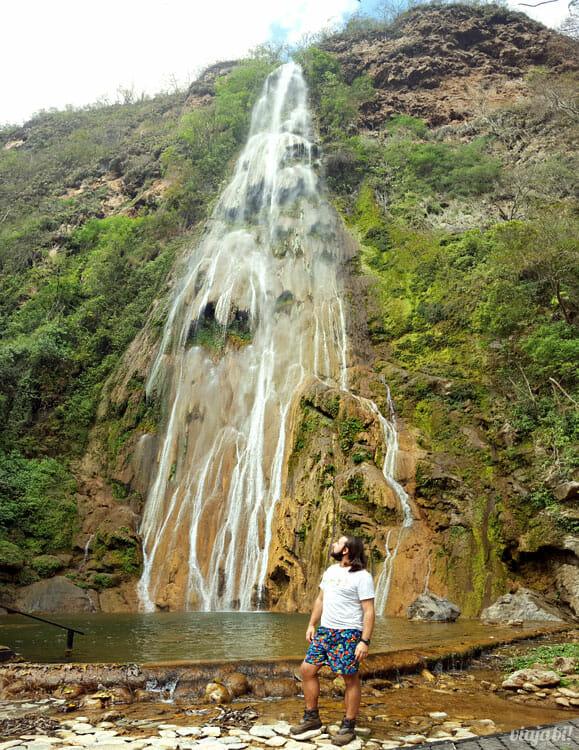 O atrativo Boca da Onça é uma fazenda que tem cachoeiras, trekking e rapel - Foto: Rafael Leick / Viaja Bi!