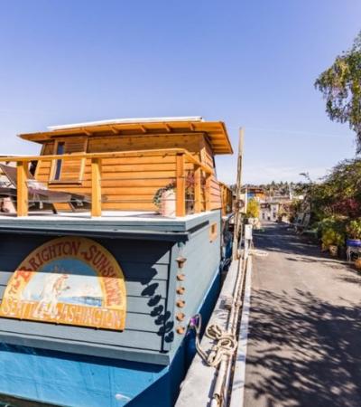 Esta casa vai te fazer querer morar em uma casa barco imediatamente!