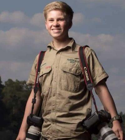 Robert Irwin, o prodígio de 14 anos especialista em fotografar animais
