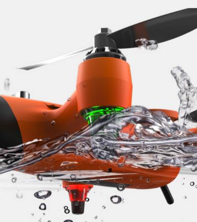 Este drone que voa e mergulha promete ser a mania do verão