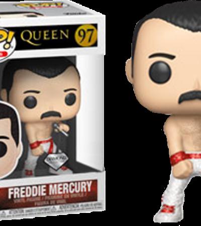 Funko Pop lança linha de bonecos colecionáveis inspirados no Queen