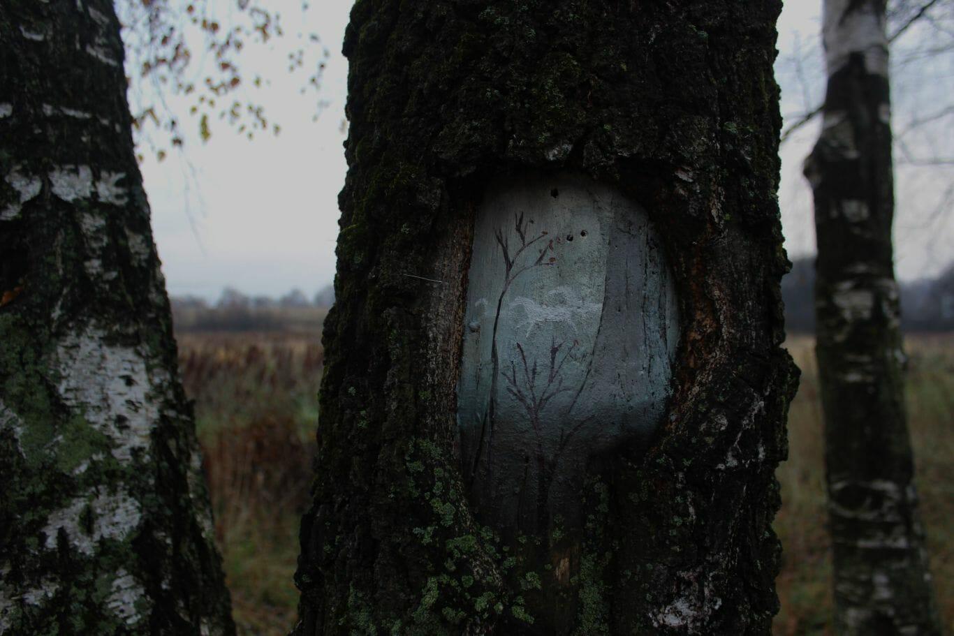 pintura em árvore 1
