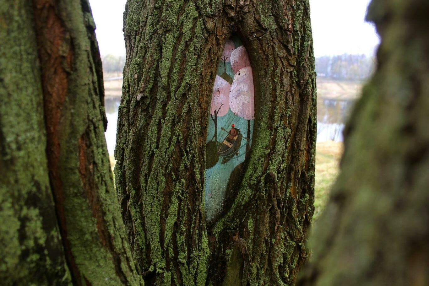 pintura em árvore 2