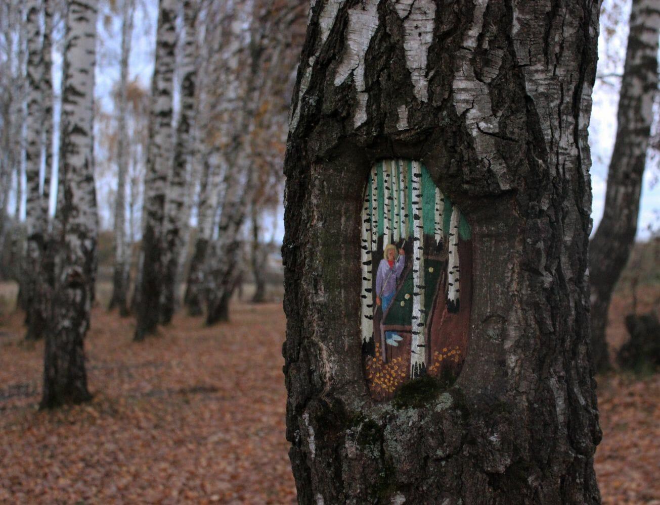 pintura em árvore 4