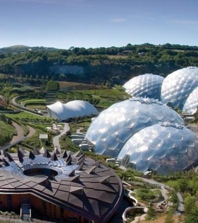 Conheça o Projeto Éden: a maior estufa tropical do mundo