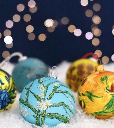 Museu Van Gogh cria as melhores decorações para sua árvore de Natal