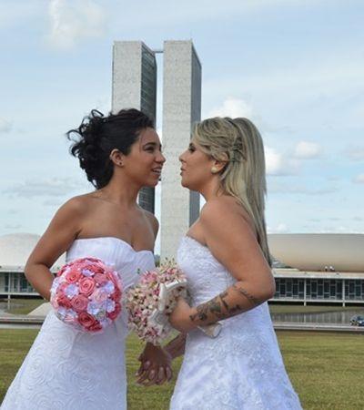 Vakinha ajuda a financiar casamento LGBTI coletivo na Casa das Caldeiras
