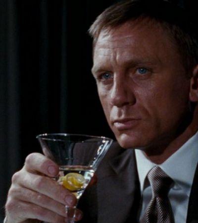 Alcoolismo não é charme: James Bond têm grandes problemas com o álcool, aponta estudo