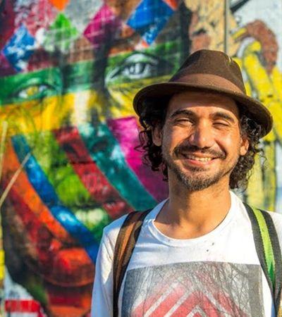 Com 19 obras pela cidade, Kobra é eleito personalidade do ano em NY