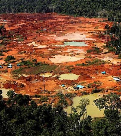 Amazônia tem mais de 2,5 mil garimpos ilegais e contaminação por mercúrio vira regra