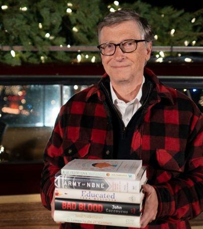 Dicas para o Natal: 5 livros que Bill Gates mais gostou em 2018