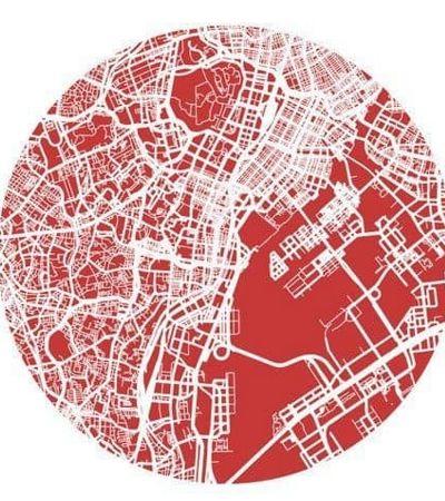Quero um pôster! Mapas urbanos e ruas de grandes cidades viram ilustrações lindas