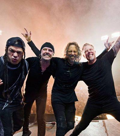 Metallica usa turnê para doar para bancos de alimentos ao redor do mundo
