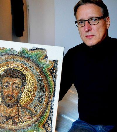 Indiana Jones da arte resgata mosaico com 1,6 mil anos