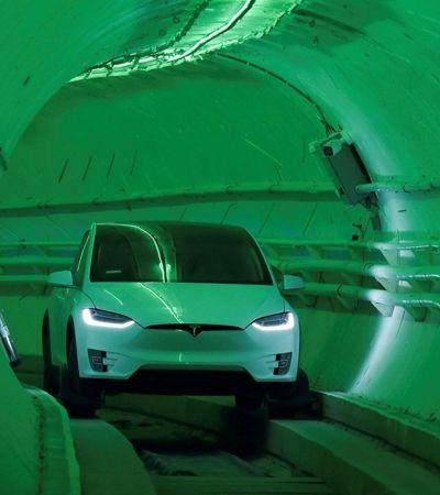 Elon Musk cria túnel subterrâneo para carros circularem a 240 km/h