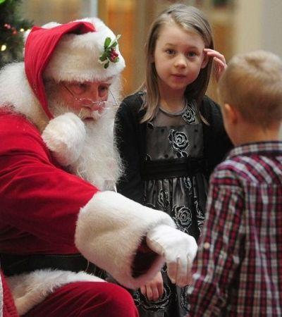Shopping contrata Papai Noel especialista em cuidar de crianças com autismo