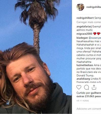 Maridão da p****! Insta de Rodrigo Hilbert e as declarações de amor que você respeita