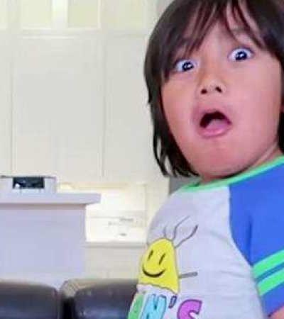 Com 7 anos, youtuber mais bem pago do mundo fatura R$ 84 milhões