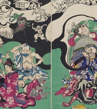 Estas obras de 1874 são os avós dos tradicionais mangás japoneses