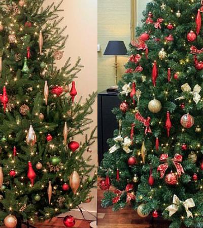 Você consegue distinguir quais são as árvores de Natal mais caras?