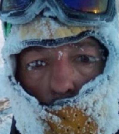Ele queria cruzar a Sibéria de bike, mas congelou em apenas 3 minutos