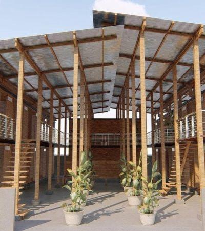 A incrível casa-bambu pré fabricada que leva apenas 4 horas para ser montada