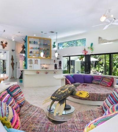 A decoração desta casa feita por um aclamado artista de upcycling é puro caos e inspiração