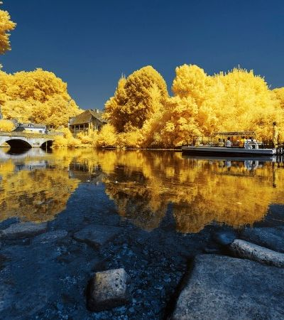 'Infra-amarelo': as fantásticas fotografias de Pierre-Louis Ferrer