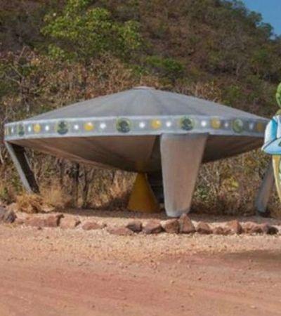 Conheça a cidade brasileira que tem um 'discoporto', aeroporto de disco voador