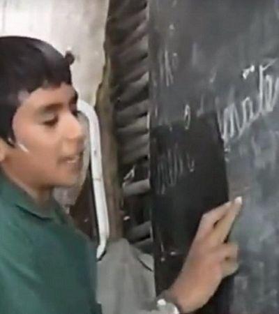 A incrível história do garoto de 12 anos que fundou sua própria escola