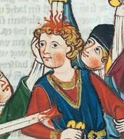 A serenidade das pessoas esfaqueadas em obras de arte medievais não faz o menor sentido