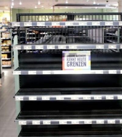 Contra xenofobia, supermercado alemão retira todos produtos estrangeiros das prateleiras