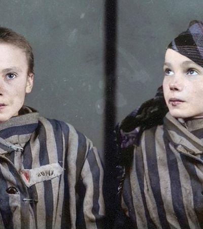 Artista brasileira colore fotos de prisioneiros de campo de concentração nazista