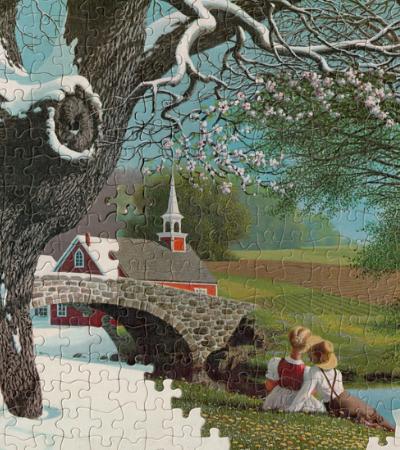 Os fantásticos quebra-cabeças surrealistas de Tim Klein