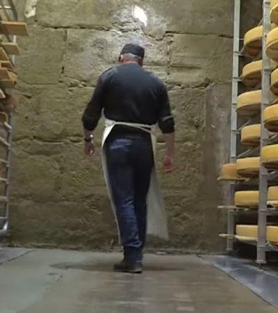 Este fabricante de queijos suíços toca música para seus queijos ficarem melhores