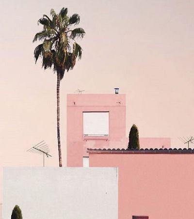 O verão minimalista lindo e colorido do fotógrafo Andria Darius Pancrazi