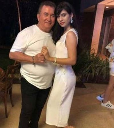 Amado Batista, 67, anuncia namoro com estudante de 19 anos
