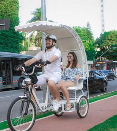 Para fugir do trânsito e do calor: App oferece carona de bike gratuita na Avenida Paulista