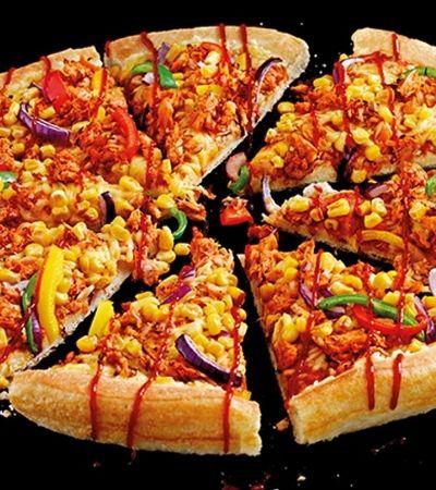 Pizza Hut lança opção vegana com carne de jaca e queijo vegetal