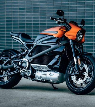 Harley Davidson elétrica atinge 100 km/h em 3,5 segundos. E chega às lojas em 2019