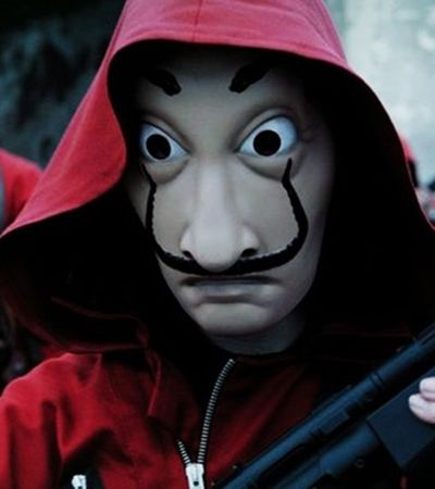 'A Casa de Papel' pode ser proibida de usar máscaras de Dalí. E o motivo é bizarro