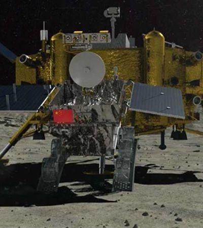 China pousa sonda no lado afastado da Lua e pretende produzir batatas e ovos