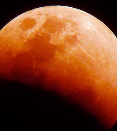 Domingo terá super lua de sangue. Fenômeno raro só acontece de novo em 2036