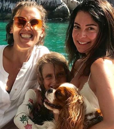Paola Carosella e Ana Paula Padrão passam férias juntas e fotos são puro amor