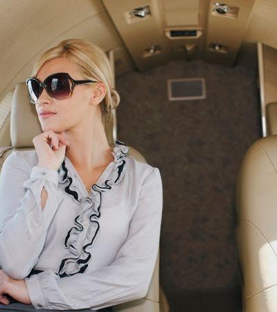 Empresa aluga jato para quem quer fingir que é rico no Instagram