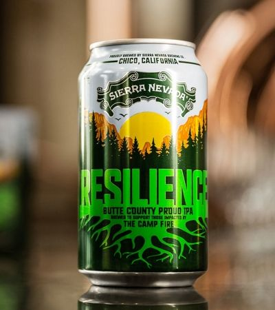 Cerveja 'Resiliência' quer arrecadar US$ 15 milhões para vítimas dos incêndios na Califórnia
