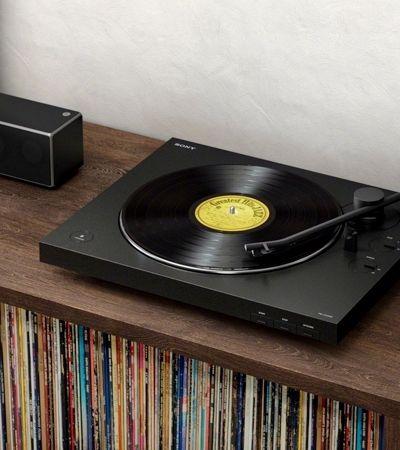 Sony lança vitrola do século 21. Sem fio, mas com bluetooth e USB