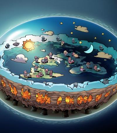 Vai rolar um cruzeiro para os terraplanistas conhecerem a 'beirada da Terra'