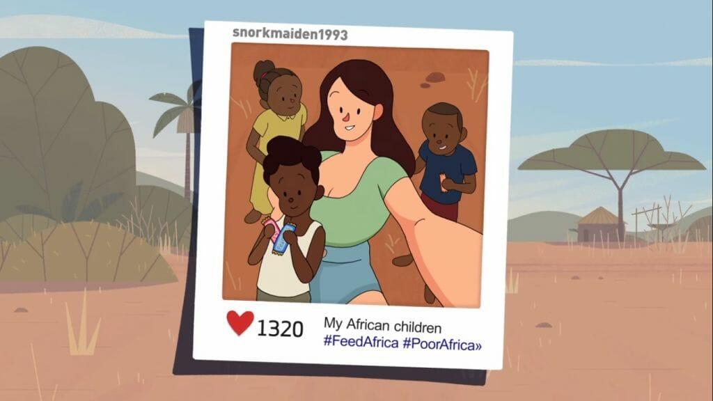 Guia ensina turistas brancos a não passar vergonha em fotos na África