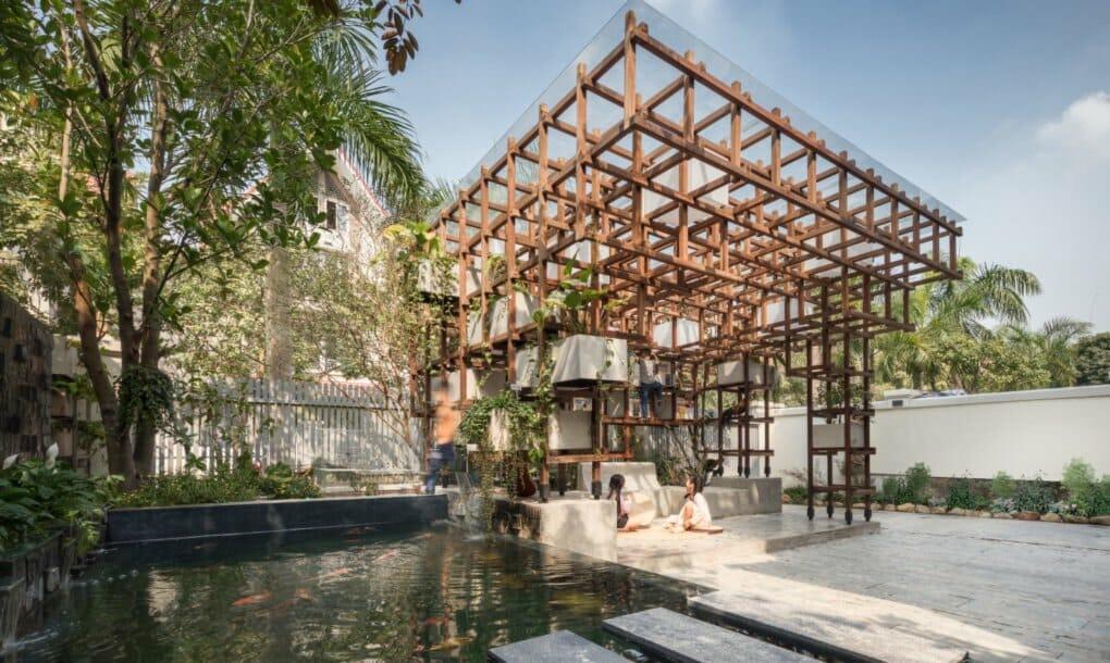 biblioteca Vietnã aquaponia 1